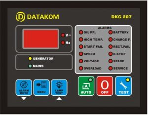 برد دیزل ژنراتور دیتاکام 207_DATA