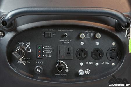 تصاویر موتور برق بنزینی IG3000 کیپور