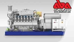 دیزل ژنراتورهای گازسوز MTU