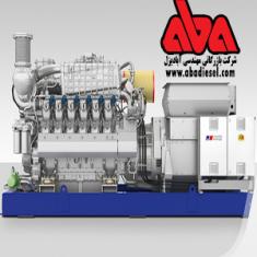گاز ژنراتور MTU 16V4000 GS